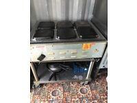 Lincat 6 plate electric hob