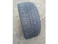 22 inch tyre with great alloys