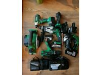 Hitachi cordless kit