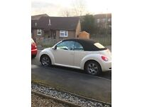 VW CONVERTIBLE BEETLE. EXCELLENT CONDITION. 12 myths MOT. PART SERVICE HISTORY. 99000 on clock