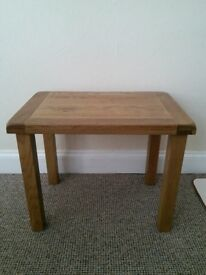 Small Table Solid Oak