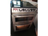 Zanussi Electrolux double electric oven and electric glass hob.Stainless steel Delivery is available