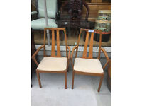 Pair of chairs , good condition , made by Nathan. feel free to view £40 for the pair...