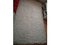 Thick Pile Cream Rug + Punchbag + Doors