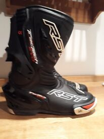 Rst tractech evo motorbike motorcycle boots size 10