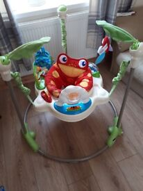 Baby fisher price jumperoo in great condition