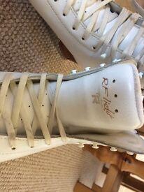 Barely worn Risport RF Light Junior Ice skates