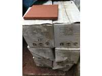 Red Quarry Tiles 150x150x12mm