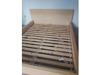 IKEA Malm bed frame - kingsize