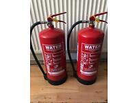 Fire extinguishers x 2
