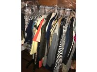 Huge Bundle of over 300 items clothing shoes and accessories all high street brands