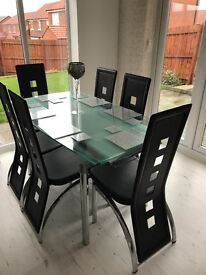 Harveys Dining Room Table And 6 Chairs