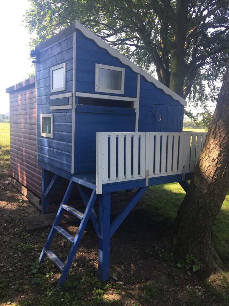 Childrens Summerhouseplayhouse Sold In Peebles Scottish