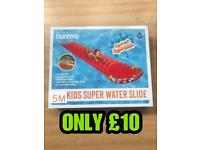 KIDS WATER SLIDES @ ROTHERHAM DISCOUNT CASH AND CARRY