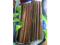 3 bags of vinyl records