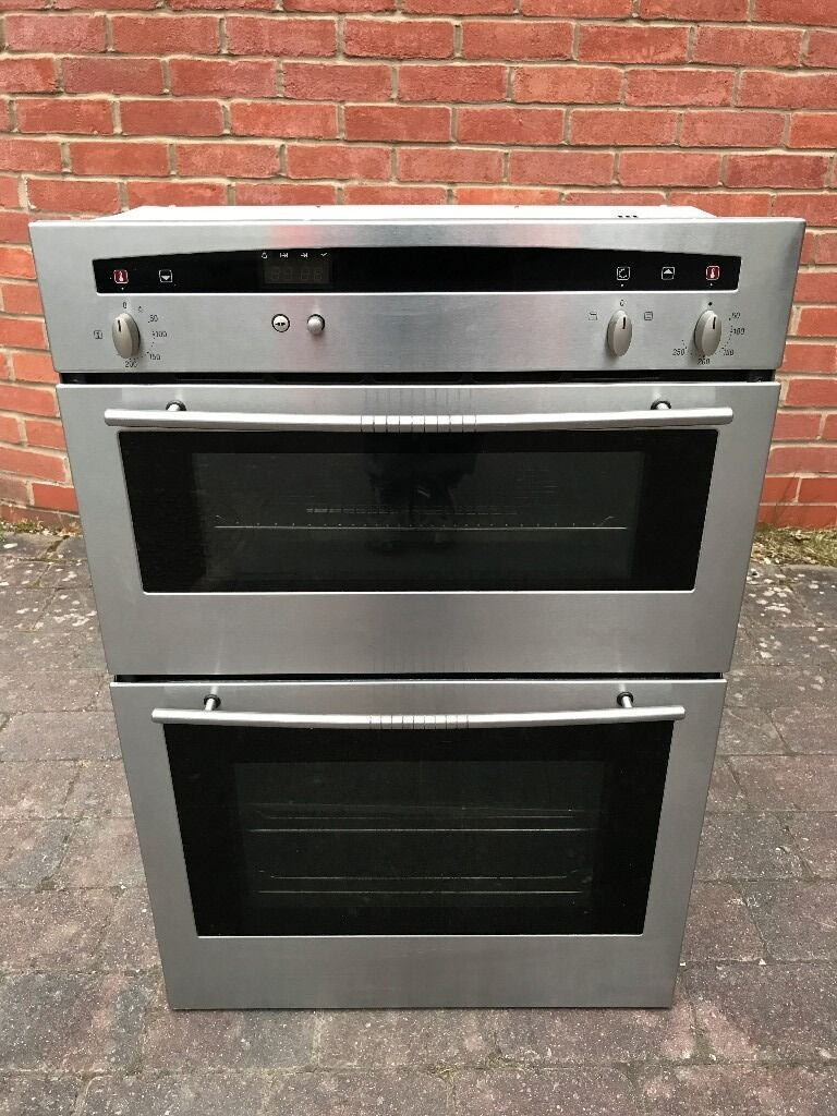 Neff Double Oven Stainless Steel  Model  U1421n2gb  Can Deliver