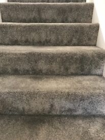 Brand new stair and landing carpet