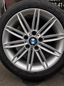 BMW 1 series e81 e82 e87 sport 17inch alloy wheels