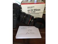 Canon 24-105 mint boxed