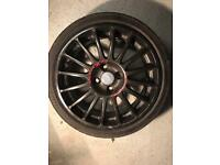 "OZ Replica Wheels Black 17"" x4"