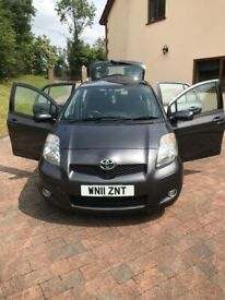 image for Toyota, YARIS TSPIRIT, Hatchback, 2011, Manual, 1329 (cc), 5 doors one lady owner from new