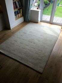 Large Marks and Spencer Pure Wool Rug