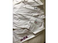 taekwondo dobok training suit size 150 or 2
