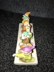 Vintage seven dwarfs toast rack