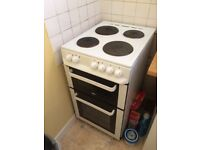 ZANUSSI FREE STANDING COOKER DOUBLE FAN OVEN