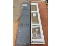 Merlyn Series 10 Swivel Panel Shower glass 300mm M8SWS30N for wetroom or shower tray