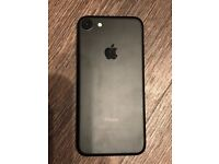 iPhone 7 Black unlocked 32gb