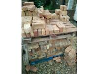 Approx. 440 assorted reclaimed cleaned bricks - buyer collect