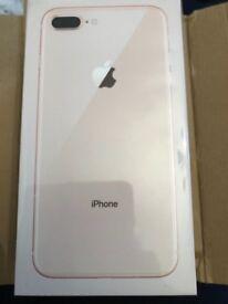 iPhone 8 Plus gold 256gb