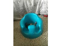 Baby Bumbo play seat with tray