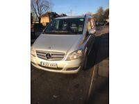 Mercedes Viano Extra long wheelbase