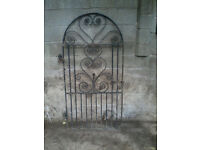 Wtought Iron Gate