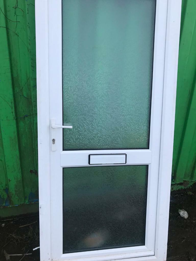 Double glazed pvc door ideal for where lots of light needed shed ...