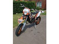 KTM 125 EXC 2009 ROAD LEGAL SUPERMOTO MX