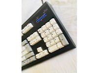 Classic Unicomp Ultra Classic Black Keyboard - Spring-loaded Keys - Like New!