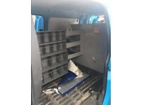 Van Metal Racking/Shelves With All Bolts And Lights Etc - Can Deliver