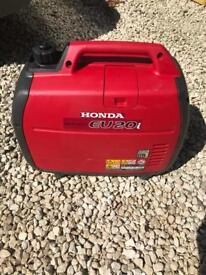 Honda inverter EU20I silent suitcase generator caravan camping motorhome dayvan 230 not 110