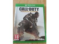Xbox 1 COD advanced warfare game