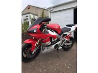 Yamaha r1 1999 4xv red