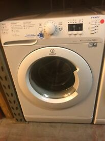 9KG WHITE INDESIT WASHING MACHINE