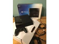 PS4 500gb in original packaging