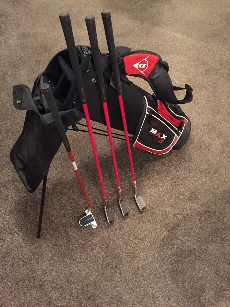 Jr Golf bag and Golf clubs