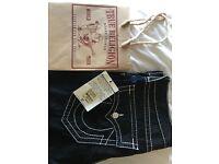 True Religion black jeans