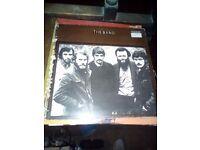 The band.vinyl record LP.