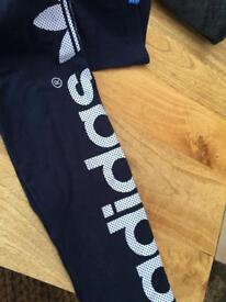 Adidas leggings 13/14 years