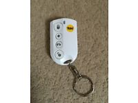 Yale alarm key thob fob remote for the HSA 6000 series alarm systems.